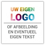 Jubileum sticker - Vierkant - Jubileum stickers